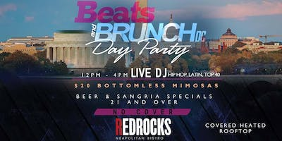 Beats And Brunch DC Rooftop Day Party l FEB 23