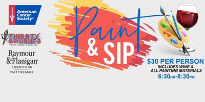 Paint & Sip: Benefiting the American Cancer Society