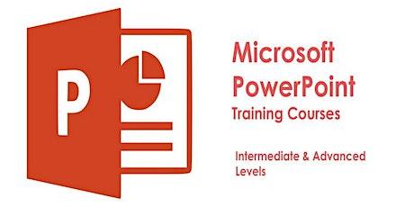 PowerPoint Intermediate & Advanced Training Course | Classroom Toronto tickets