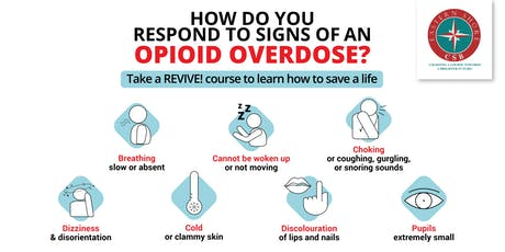 REVIVE! Lay-Rescuer Training (Naloxone Training) tickets