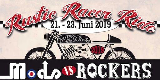 RUSTIC RACER RIDE - 3. CafeRacer-Days Allgäu