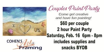 Couples Paint Party