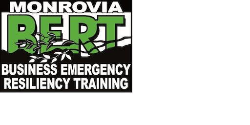 BERT Unit 5: Disaster Exercise Planning