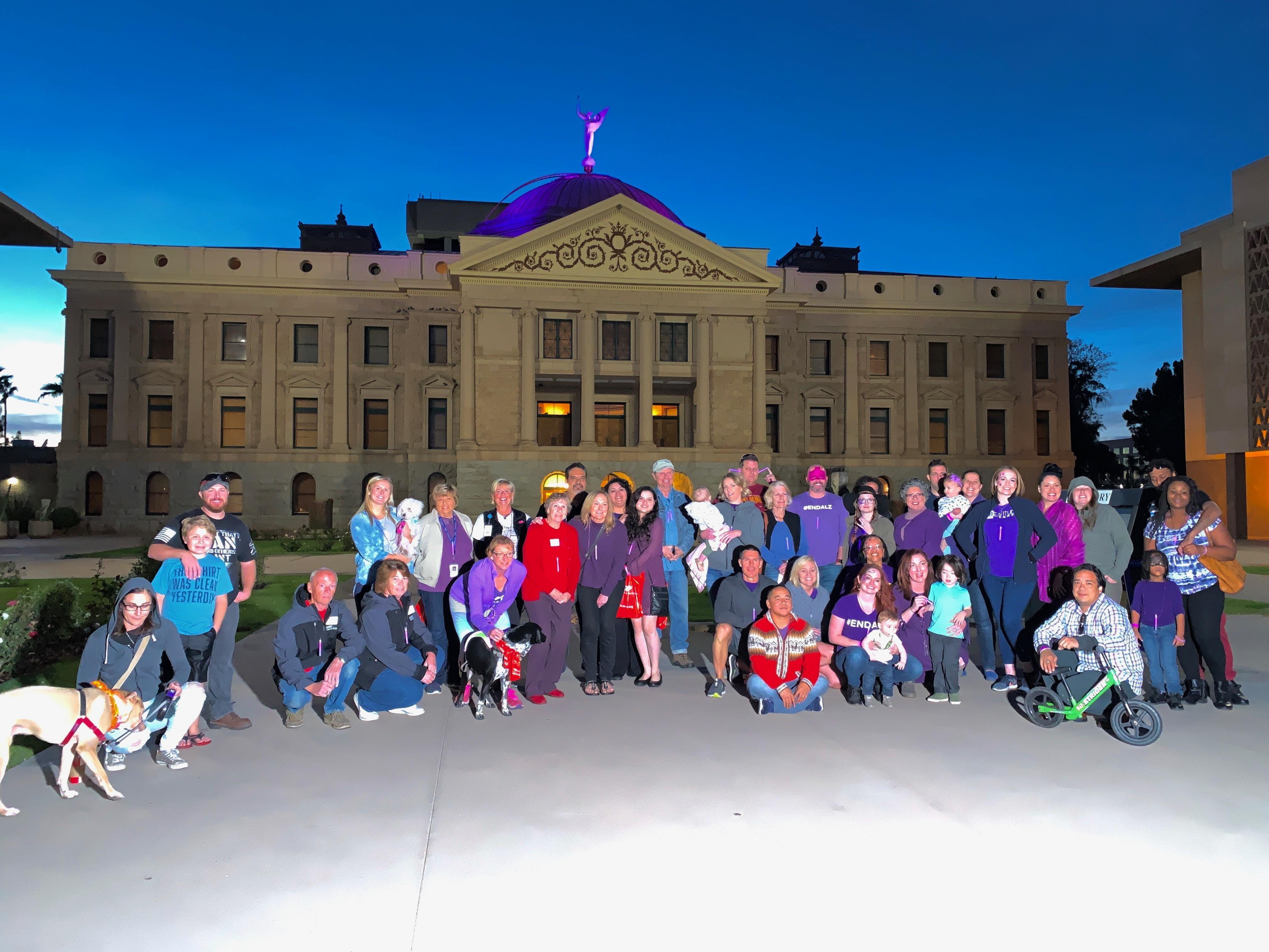 Alzheimer's Awareness - Shine a Light on All Dementias (Phoenix)