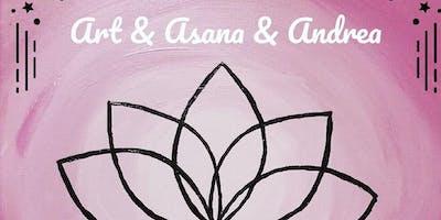 ART ASANA AND ANDREA  - Paint & Flow