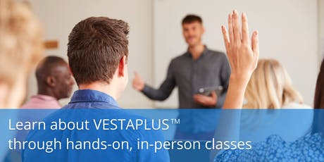 VESTAPLUS™ Listing Search Hands-On tickets
