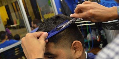Entrenamiento de Barbero con Modelo | Johnny B | En español tickets