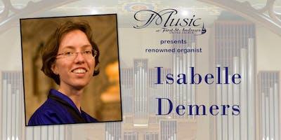 Isabelle Demers Organ Recital