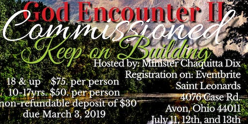 "God Encounter 2019 ""Commissioned"""