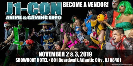 J1-Con: Anime & Gaming EXPO 2019 - VENDORS tickets
