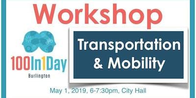 100in1Day Workshop - Transportation & Mobility Focus