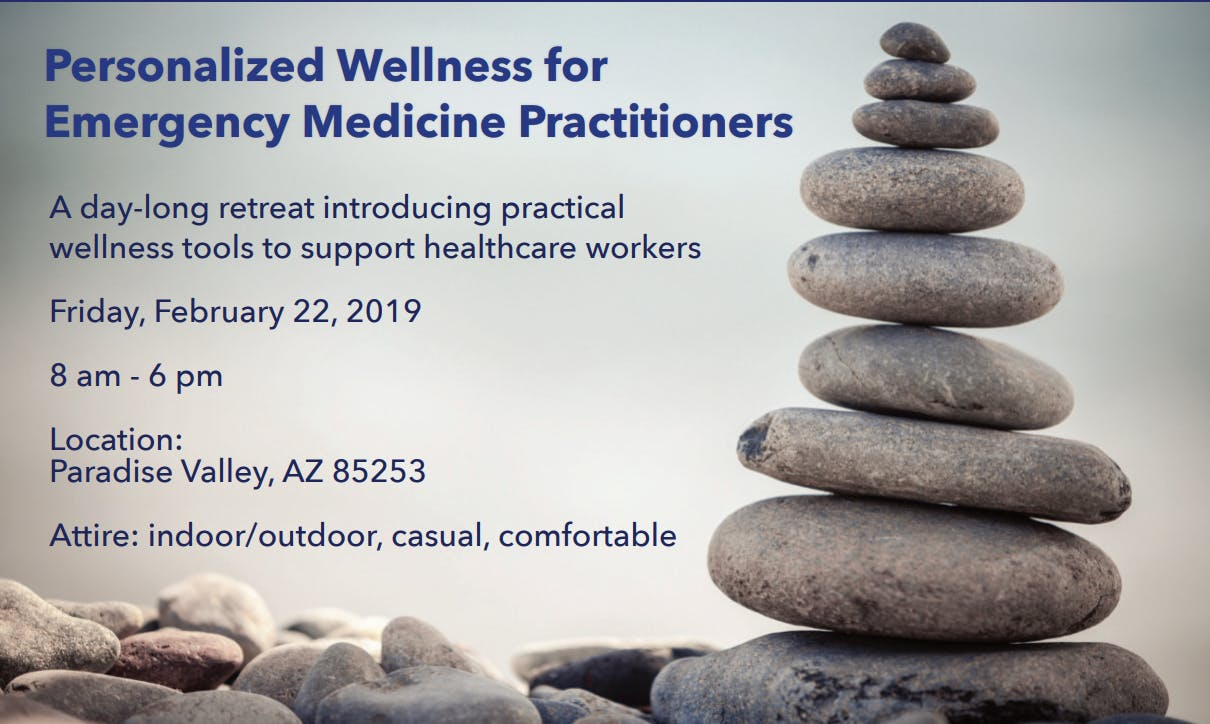 Personal Wellness for Emergency Room Physicians
