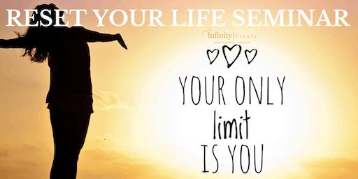 RESET YOUR LIFE SEMINAR, SUNSHINE COAST