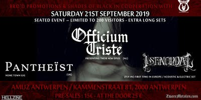 Officium Triste - CD Release Party