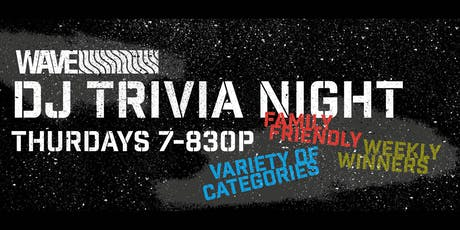 Free Thursday Night Trivia tickets