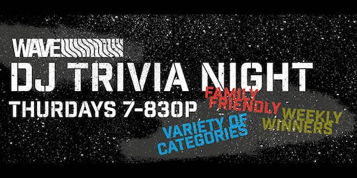 Free Thursday Night Trivia