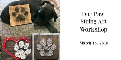 Dog Paw String Art Workshop