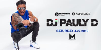 DJ PAULY D - Live at the Metropolitan New Orleans