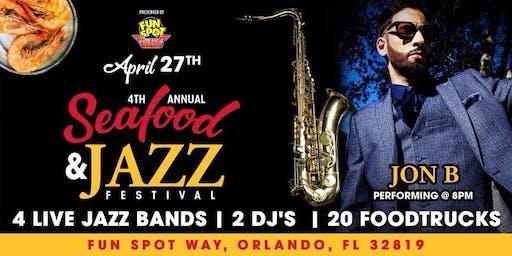 Seafood Jazz Festival Featuring Jon