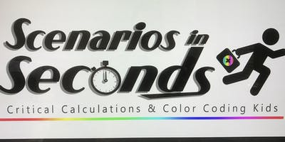 Scenarios In Seconds: Critical Calculations & Color Coding Kids ~ Washington D.C.