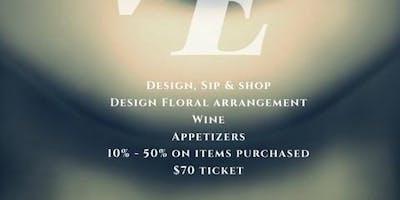 Design, Sip & Shop
