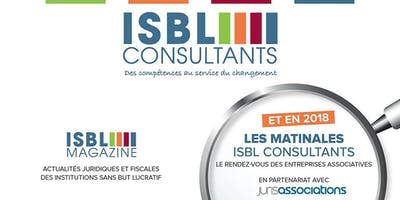 Matinale ISBL CONSULTANTS mars 2019