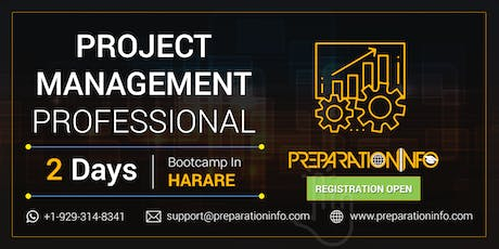 PMP Exam Prep Classroom Training and Certification in Harare 2 Days tickets