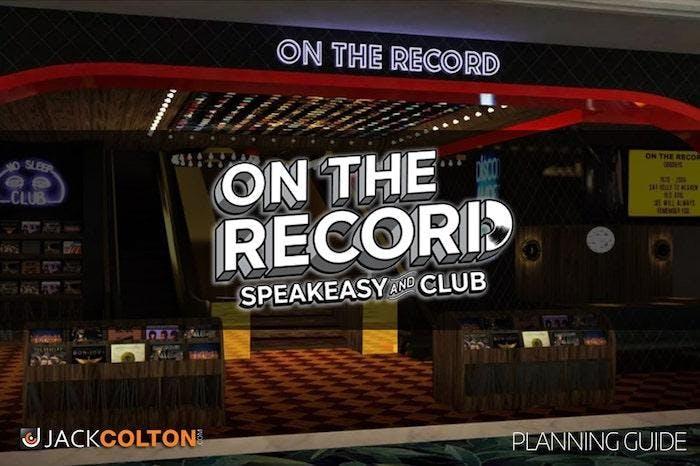 On The Record Nightlcub - VIP GUEST LIST - 4/