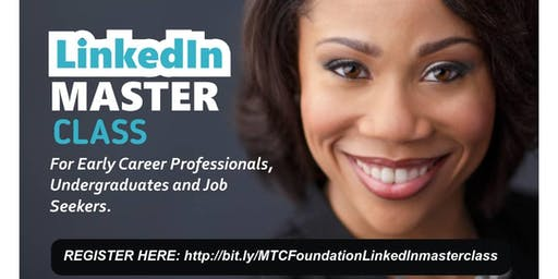 LinkedIn Masterclass in Lagos, Nigeria (July 2019 - PAID EVENT)