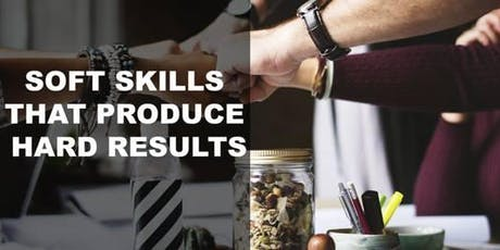 Soft Skills That Produce Hard Results - Sales & Marketing Are Not the Same Thing tickets