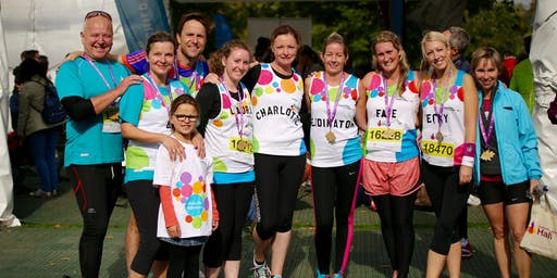 Register your interest: Guy's and St Thomas' Hospital Royal Parks Half Marathon 2019