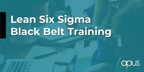 Lean Six Sigma Black Belt tickets