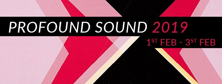 Profound Sound 2019 -  Experimental Sound Festival, Folkestone image