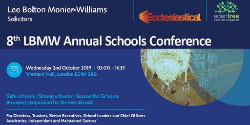 LBMW Schools Conference: Safe Schools | Strong Schools | Successful Schools