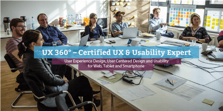 UX 360° - Certified UX & Usability Expert (engl.), Copenhagen tickets