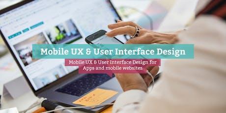 Certified Mobile UX & UI Design Specialist (engl.), Barcelona tickets