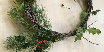 Family Winter Wreath Making Workshop