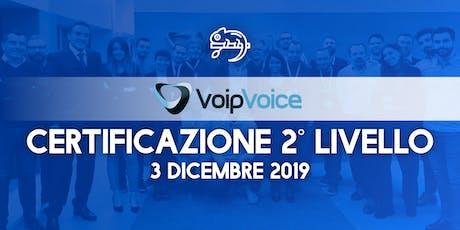 Corso di Certificazione Secondo Livello VoipVoice Firenze biglietti