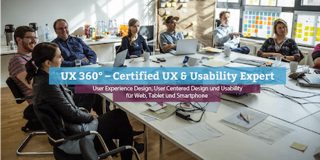 UX 360° – Certified UX & Usability Expert, Frankfurt Tickets