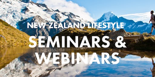 This is New Zealand Webinar - Wednesday 11th December 2019