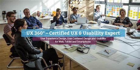 UX 360° - Certified UX & Usability Expert (engl.), Dublin tickets
