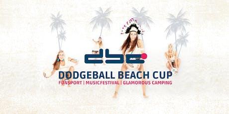 DODGEBALL BEACH CUP 2019 - Turnier - WARTELISTE Tickets