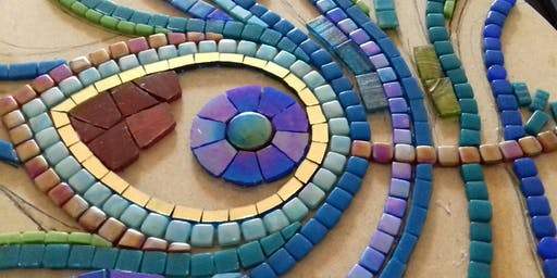 Make a Mosaic (Inspired by the art of Ancient Egypt or a subject of your choice)