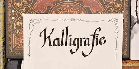 Kalligrafie - Frakturen schreiben mit Bandzugfeder und mehr! - Graz Tickets