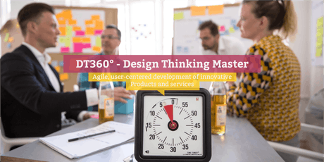 DT360° - Certified Design Thinking Master (engl.), London tickets