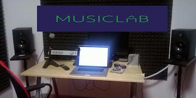 MUSICLAB&Recording - Abilitazione e utilizzo Studio B con proprio portatile