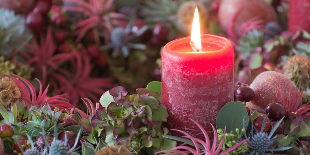 Christmas Table Centrepiece Tickets Sun 15 Dec 2019 At 10 00