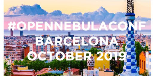 OpenNebulaConf 2019: October 21-22