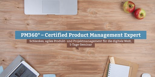 PM360° – Certified Product Management Expert, Hamburg