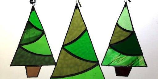 Stained Glass Christmas Trees Workshop with Caryl Hallett